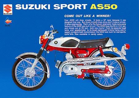reproduction decals rh reproductiondecals com Suzuki As50 Cafe Suzuki Trailhopper 50