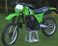1980 Kawasaki KLX250