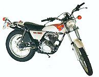 1976 Honda TL125
