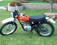 1974 honda xl125 submited images