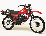 1982 Honda XL250R