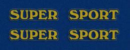 1975 Honda CB750 Super Sport logos