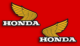 1982-83 Honda XL250R fuel tank decals