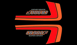 1982 Honda CB900F side panel decals
