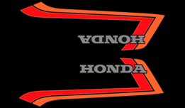 1982 Honda CB900F gas tank decals