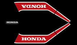 1982 Honda MB5 Tank & Tail Decals