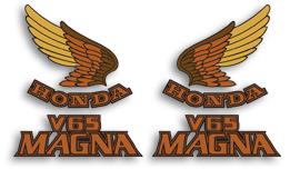 1985 Honda V65 Magna decal set