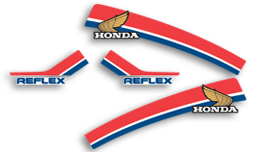1986 Honda TLR200 decals