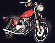 1978 Kawasaki KZ650 SR