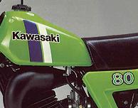 1980 Kawasaki KX80B