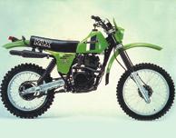 1981 Kawasaki KLX250
