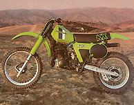 1981 Kawasaki KX420