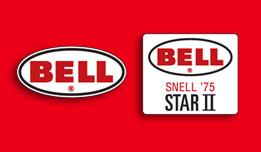 BELL STAR II SNELL '75 Helmet Decals