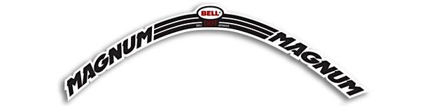 Bell Magnum Helmet decal