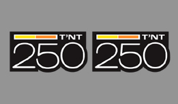 can am 250 TNT side decals
