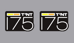 can am 175 TNT side decals