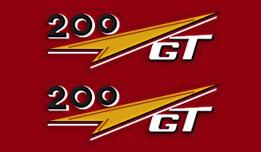 Ducati 1962 200GT sides