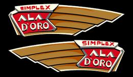 1930s Simplex Decals