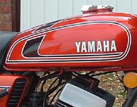 YAMAHA 1979 MX80 MX100 MX175 TANK DECALS GRAPHICS