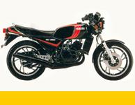 RZ 250R 1982 Vintage Repro vinyl decal kit